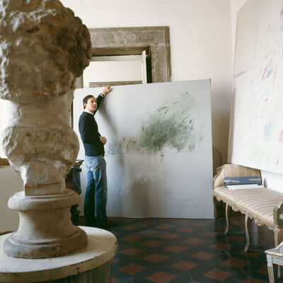 Horst P. Horst, 'Cy Twombly in Rome 1966 - Untitled #24', 1966