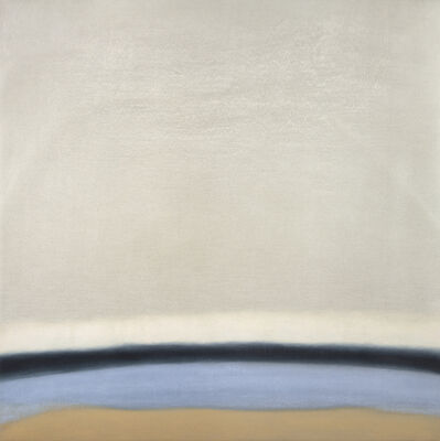 Susan Vecsey, 'Untitled (Blue/Gold)', 2018