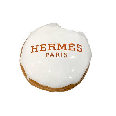 "Eva Post Ruben Verheggen, '""I DONUT HAVE A HOLE"" White Hermès', 2019"