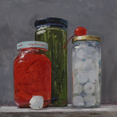 Billy Solitario, 'Cocktail Jars'