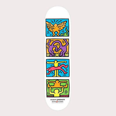 Keith Haring, 'Keith Haring Retrospect Skateboard Deck ', 2013