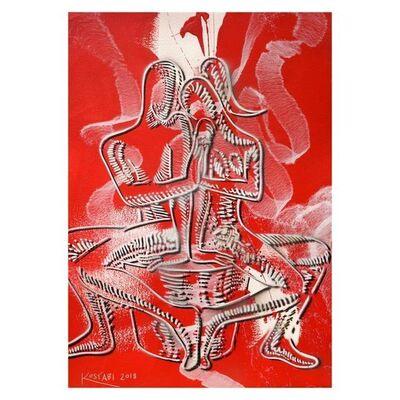 Mark Kostabi, 'Crimson Solidarity', 2000-2020