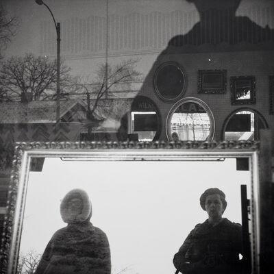 Vivian Maier, 'Self-portrait, Chicago area', ca. 1970