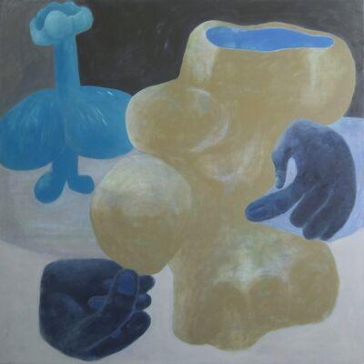 Ginny Casey, 'Blue Hands', 2015