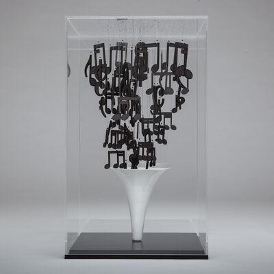 Natasja van der Meer, 'Music notes', 2017