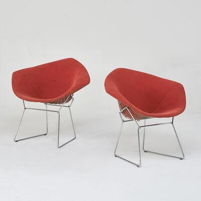 Harry Bertoia, 'Pair of Diamond chairs', 1960s