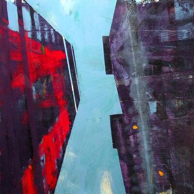 David Kapp, 'Wall Street (looking up)', 2014