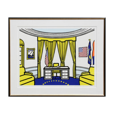 Roy Lichtenstein, 'The Oval Office (C. 277)', 1992