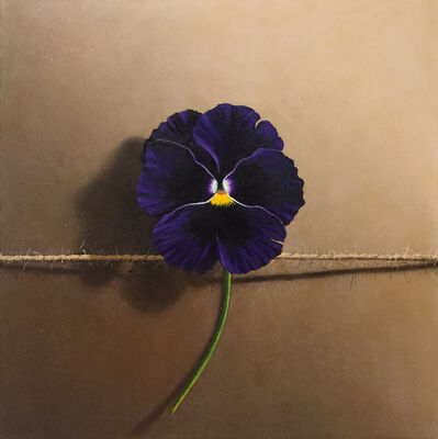 Otto Duecker, 'Tied Purple Pansy', 2020