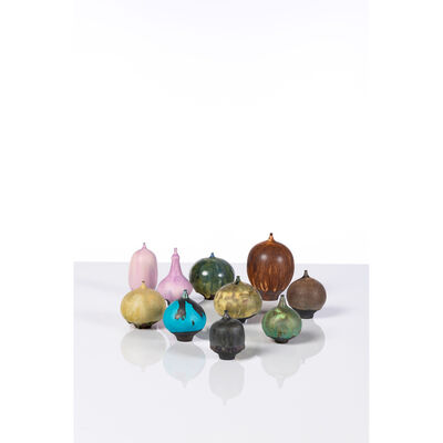 Rose Cabat, 'Feelies, Set Of Ten Vases', 1960-2000