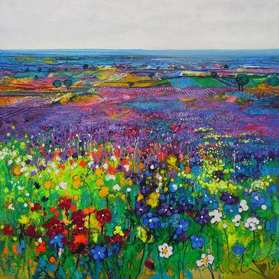 Ulpiano Carrasco, 'Violetas Silvestres', 2019