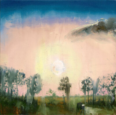 Dan Attoe, 'Sunset in Western Illinois (On the Way Back to Iowa from Chicago)', 2003