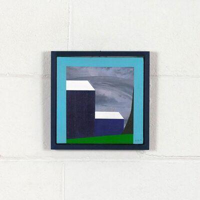 Charles Pachter, 'Mini Blue Barn', 1998
