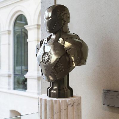 Léo Caillard, 'Heroes in Stone (Iron Man Bronze)', 2018
