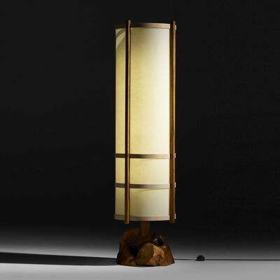 George Nakashima, 'Kent Hall floor lamp', 1984