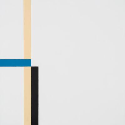 César Paternosto, 'Tensiones lineales / espacios asimétricos | Linear tensions / asymmetric spaces', 2017
