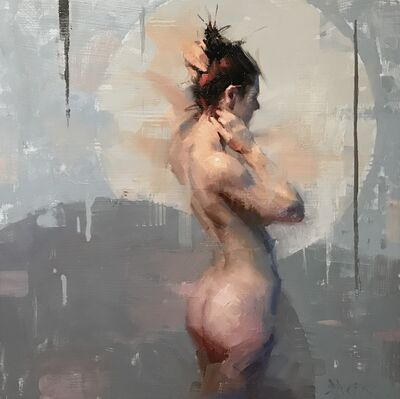 Jacob Dhein, 'Nude with Grey', ca. 2020