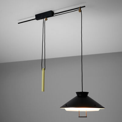 Stilnovo, 'Stilnovo Adjustable Counterweight Pendant Lamp', 1960s