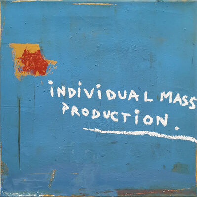 L.E.T., 'Individual mass production', 21st century