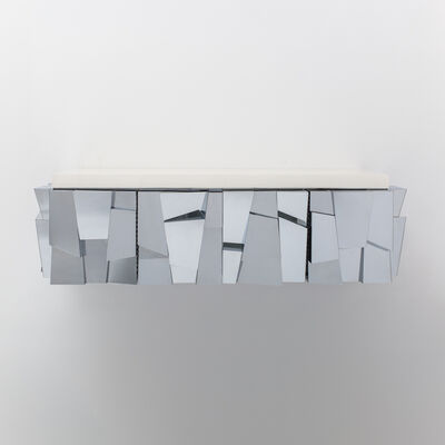 Paul Evans (1931-1987), 'Paul Evans, Cityscape II Faceted Console, USA, c.1970'