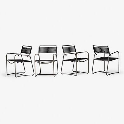 Walter Lamb, 'Set of four armchairs, USA'