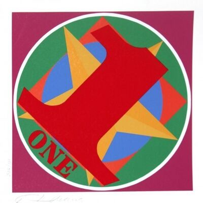 Robert Indiana, 'American Dream One', 1997