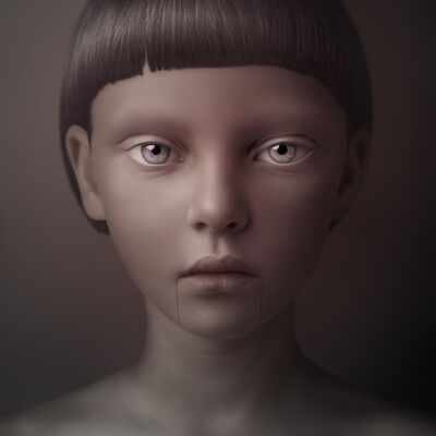 Oleg Dou, 'Masha 2 from Sketches series', 2010