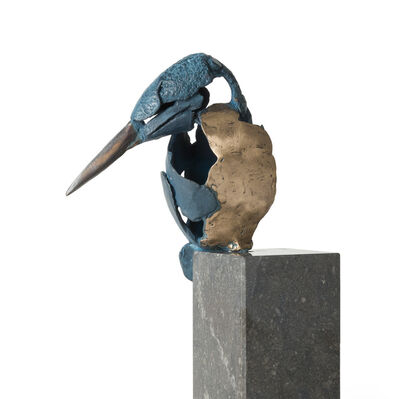 Jozephine Wortelboer, 'Kingfisher 5 (incl. small console 10x5x5 cm)', 2019