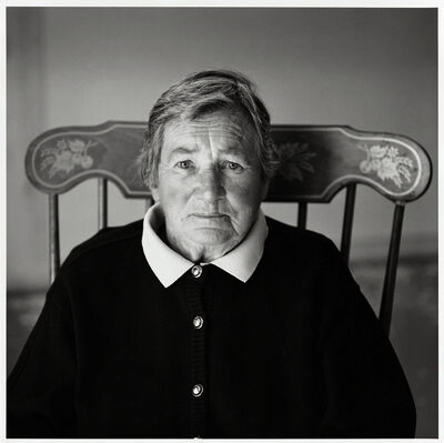 Timothy Greenfield-Sanders, 'Agnes Martin', 1993