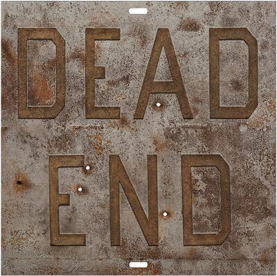 Ed Ruscha, 'Rusty Signs - Dead End 1', 2014