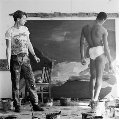 Jeannette Montgomery Barron, 'Rainer Fetting & Desmond, NYC', ca. 1984