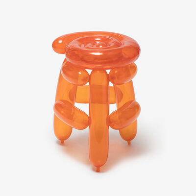 Seungjin Yang, 'ORANGE BLOWING STOOL 1', 2019