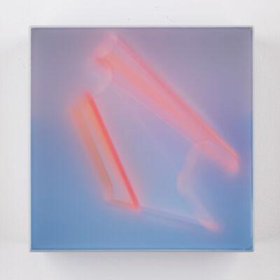 Kal Mansur, 'Teal Signet 7', 2017
