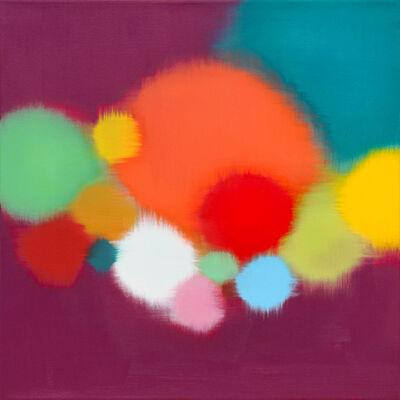 Anda Kubis, 'Pathways, Violet', 2019