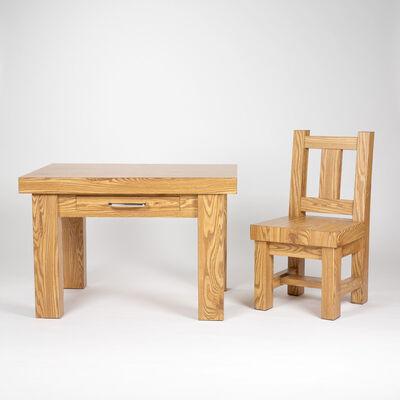 Richard Artschwager, 'Chair/Table', 1980