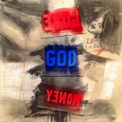 Milan Heger, 'Love God Money', 2012