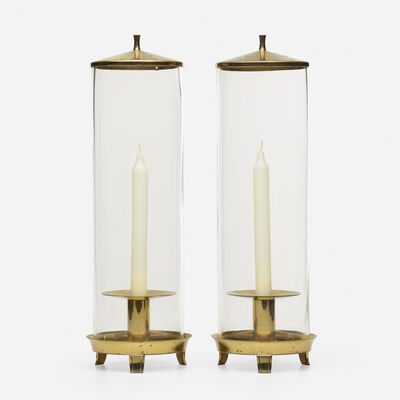 Tommi Parzinger, 'Candles holders, pair', 1960