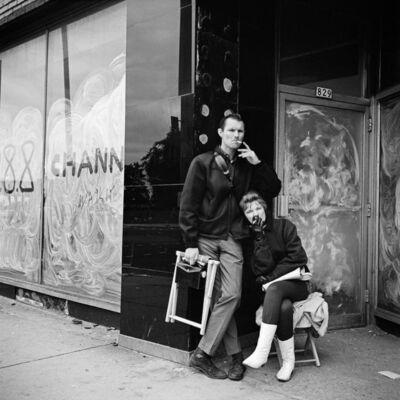 Vivian Maier, 'Couple Smoking', n.d.