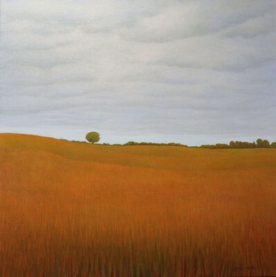 CAROL KAPUSCINSKY, 'Amber waves of soybean', 2018