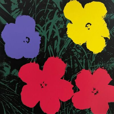 Andy Warhol, 'Flowers (Sunday B. Morning) (set of ten)', 2018