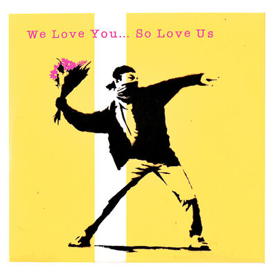 Banksy, 'WE LOVE YOU SO LOVE US (Promo cd in sleeve)', 2000