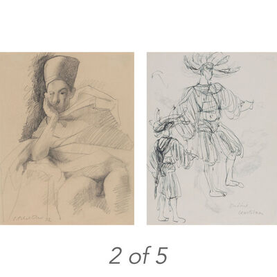 Pavel Tchelitchew, 'Five Works on Paper'