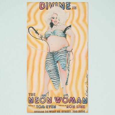 Richard Bernstein, 'Divine in The Neon Woman poster', 1978