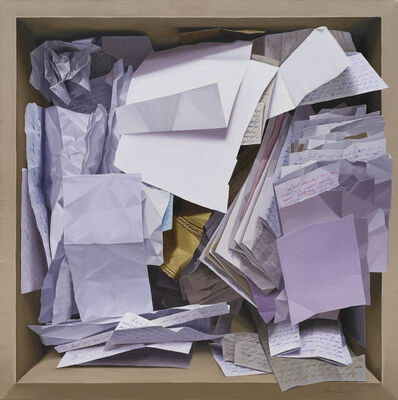 Onay Rosquet, 'Filed Papers', 2018