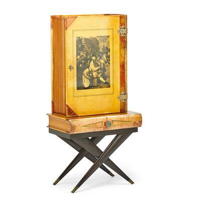 Aldo Tura, 'Illuminated Bar Cabinet, Italy', 1950s