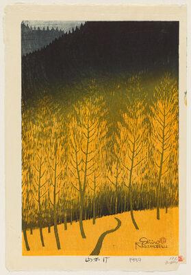 Kasamatsu Shirō, 'Shadow of a Mountain', 1959