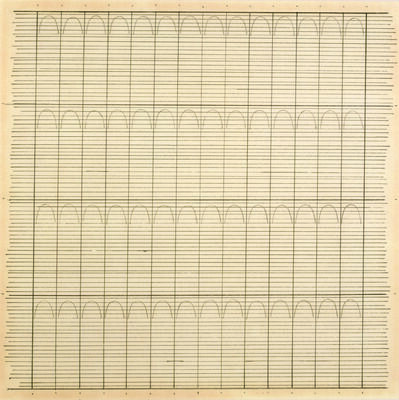 Agnes Martin, 'Untitled', 1960