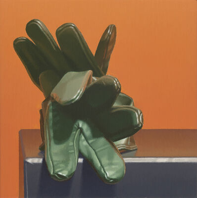 Harold Reddicliffe, 'Green Gloves', 2019