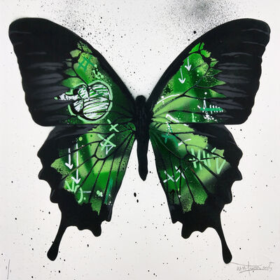 Martin Whatson, 'Butterfly Green, Unique 1/1', 2015