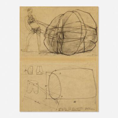 Christo, 'Wedding Dress', 1967